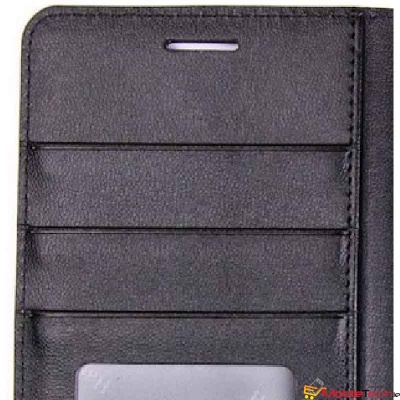 iPhone XS Case Hanman Wallet Cover Black